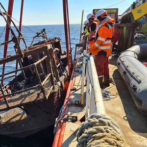 VIDEO: Wreck of Fishing Vessel Nicola Faith Recovered