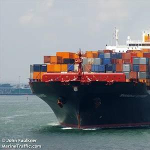 Coast Guard Coordinates Boxship Fire Response