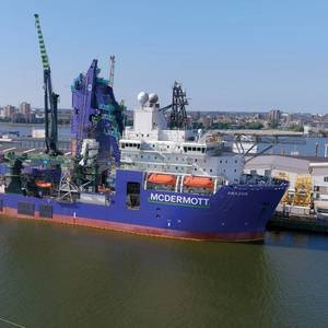 McDermott's Amazon Vessel to Install Pipelines at Shell's Whale Project