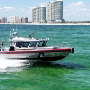 Metal Shark Delivers Next-gen Fireboat to Orange Beach Fire Rescue