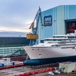 MV Werften Gets EUR 193M Loan to Complete Crystal Endeavor