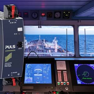 PULS Power Launches 480W DIN-Rail Power Supply for Marine Applications