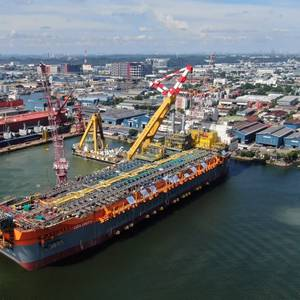 Topside Integration Works Kick Off on Liza Unity FPSO in Singapore