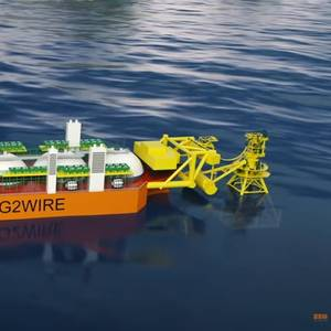 VIDEO: SBM Offshore's LNG2Wire Floater Concept