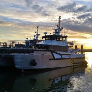 Seacat's Catamaran to Serve Greater Gabbard Offshore Wind Farm