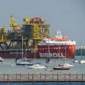 Photo: Sembcorp Marine Delivers Offshore Facilities for TotalEnergies' Tyra Field