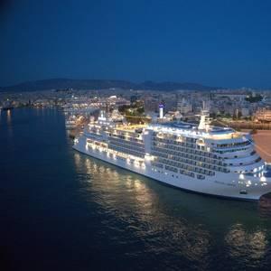 Silversea Cruises' New Ultra-luxury Ship Christened in Greece