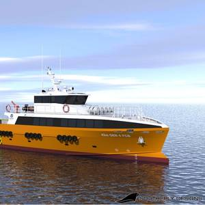 Strategic Marine Unveils New Fast Crew Boat Design