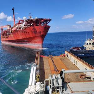 Gallery: Petrojarl Banff FPSO Arrives in Denmark for Recycling