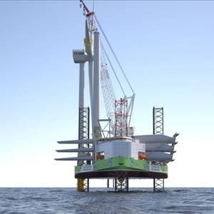 """Ulstein Designs """"Zero-Emission"""" Offshore Wind Turbine Installation Vessel"""