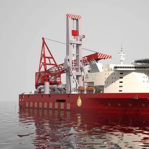 ZPMC Launches JSD 6000 Deepwater Heavy-lift Pipelay Vessel