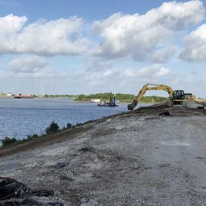 West Calcasieu Port Barge Basin Dredge Work Completed