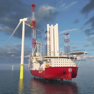 Wärtsilä Engines, Thrusters for OHT's Offshore Wind Jack-up Rig