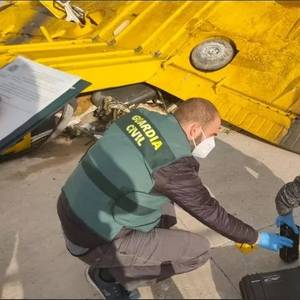 SASEMAR, ASCM Recover Wreckage of Aircraft Crashed Off Spanish Coast