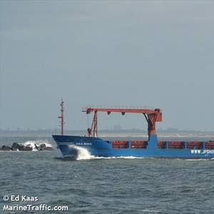 Cargo Ship Sinks Off Greece. All 16 Crew Rescued