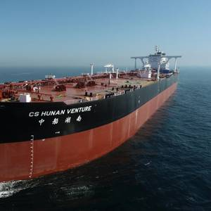 China Launches Energy Efficient VLCC