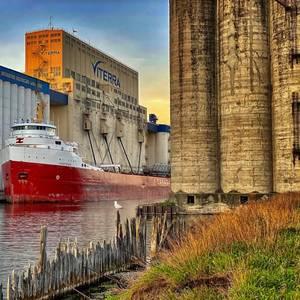 Grain Shipments via St. Lawrence Seaway Climb