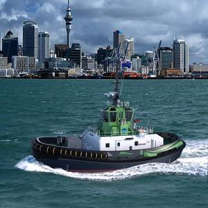 Auckland Signs for Damen Electric Tug