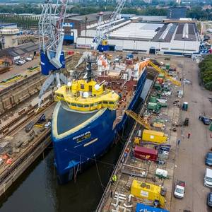Damen Converts PSV into Fish Feed Carrier for Eidsvaag