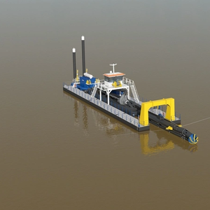 Damen's Deep Cutter Suction Dredger Unveiled