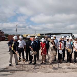 Derecktor Breaks Ground on New Florida Shipyard