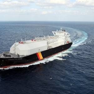 New Japanese-built LNG Carrier Named