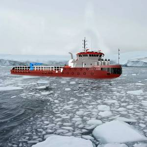 Ecospeed Coatings Chosen for Russian Icegoing Tug Pair