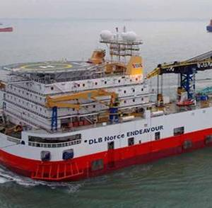 Saipem Takes Over Norce Endeavour Vessel