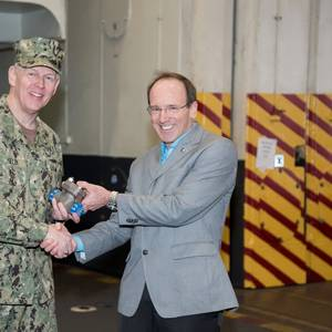 TECH FIRST: 3D Printed Pipe Fitting for Nuclear Aircraft Carrier