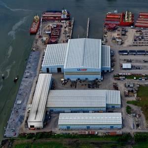 Chouest's LaShip Shipyard Adds New Welding Robot