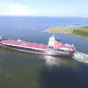 LNG Powered ConRo Ship Delivered to Crowley