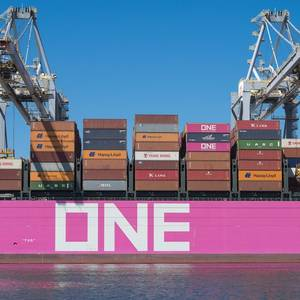 ONE to Charter World's Largest Containerships