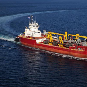 US' Largest Hopper Dredger Delivered