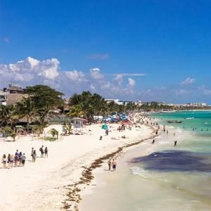 Passenger Ferry Explodes at Mexico's Playa del Carmen
