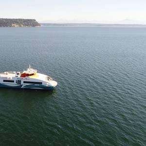 New Kitsap Transit Ferry Completes Sea Trials