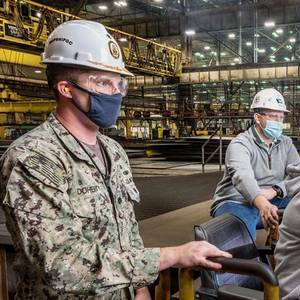 HII Begins Fabrication of Destroyer Jeremiah Denton (DDG 129)