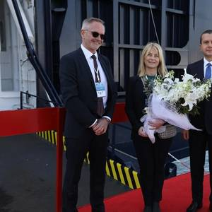 DFDS' Largest Ferry Named