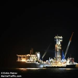Noble Drillship Damaged by Hurricane Ida