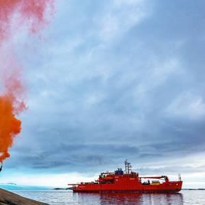 Icebreaker Aurora Australis Begins Final Voyage