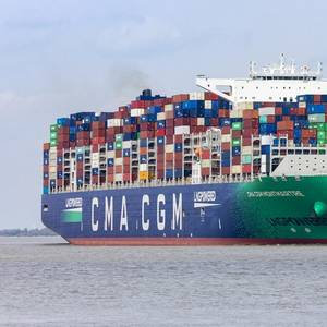 CMA CGM Earnings Jump as Shipping Rush Continues