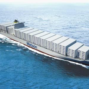 Matson Christens First Aloha Class Vessel 'Daniel K. Inouye'
