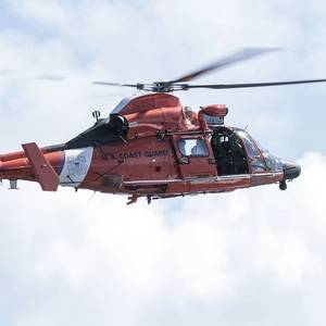 USCG Searching for Missing Tour Helicopter