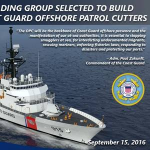DHS, USCG Extend Contract Relief ESG for OPC