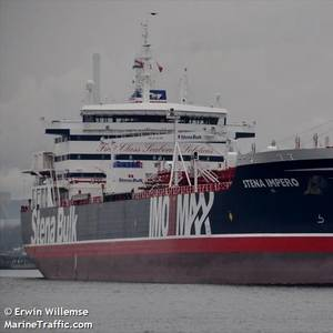Owner: Detention of UK-flag Tanker Unacceptable