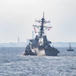U.S. Navy Punishes Senior Staff in Deadly Warship Collision