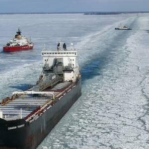 Coast Guard Begins Ice Breaking Ops in the Western Great Lakes