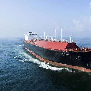 COSCO Orders Three LNG Carriers at Hudong-Zhonghua