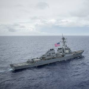 US Warship Damaged in Collision with Tug off Japan