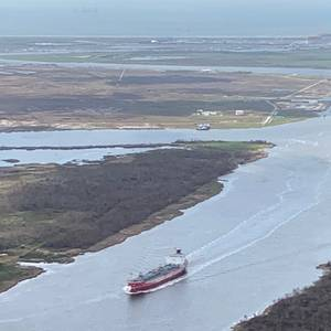 Army Corps Assessing Louisiana Calcasieu Ship Channel After Delta