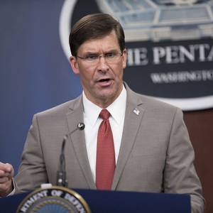 US Defense Chief Backs Navy Ouster Amid Report Captain has Coronavirus